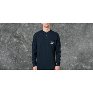 Polar Train Banks Henley Longsleeve Tee Navy