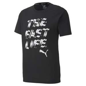 Puma Performance Slogan Tee Puma Black/ Q1 Prt 2
