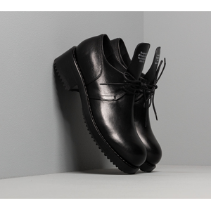 Raf Simons Laced Up Shoe Men Black Cow Leather