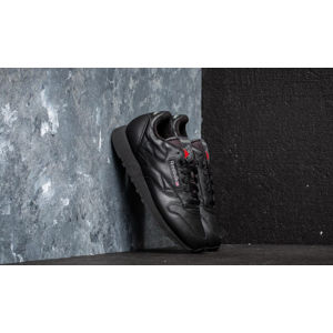 Reebok Classic Leather Black/ Carbon/ Red