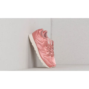 Reebok Classic Leather Satin Chalk Pink/ Classic White
