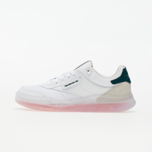Reebok Club C Legacy White/ Twisted Coral/ Forest Green
