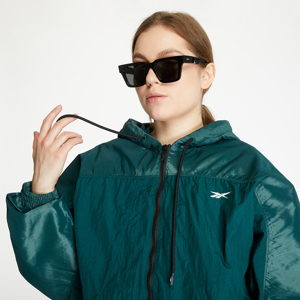 Reebok Shiny Woven Jacket Forest Green