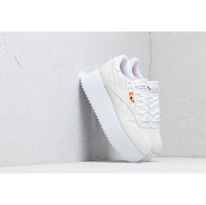 Reebok x Gigi Hadid Classic Leather Triple Platform White/ Neon Red/ Black