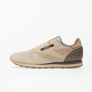 Reebok x Hot Ones Classic Leather MU Pebble/ Paper White/ Canvas