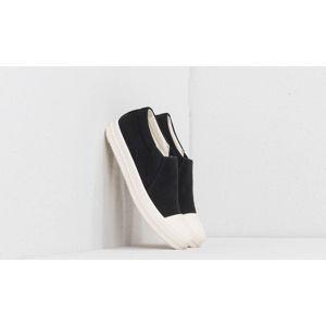 Rick Owens Boat Sneakers Black /Milk