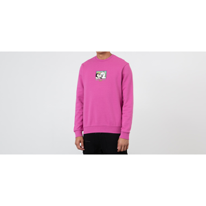 RIPNDIP Lady Friend Crewneck Fuchsia