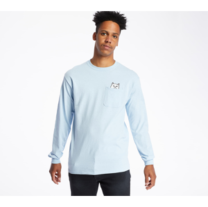 RIPNDIP Lord Nermal Long Sleeve Tee Baby Blue