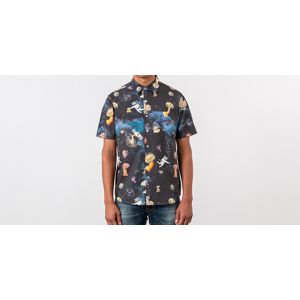 RIPNDIP Scuba Nerm Button Shirt Black
