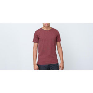 SELECTED Edwin Shortsleeve O-Neck Tee Dark Grey Melange/ Barbados