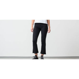 SELECTED Lana High Waist Bootcut Jeans Black Denim