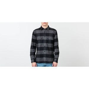 SELECTED Loosedean Longsleeve Shirt Black/ Grey