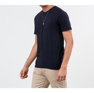 SELECTED V-Neck Tee Night Sky