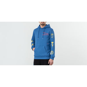 Soulland Meets Footshop King Hoodie Blue