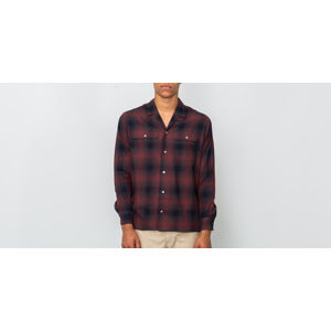 STAMPD LOS Plaid Shirt Red