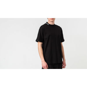 STAMPD Mock Neck Tee Black