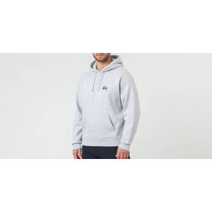 Stüssy Basic Hoodie Grey Heather