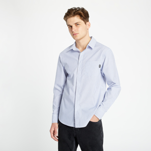 Stüssy Big Button Stripe Shirt Blue Stripe