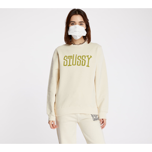 Stüssy Block Type Crewneck Cement