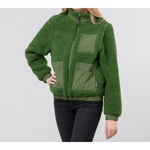 Stüssy Convertible Sherpa Jacket Green