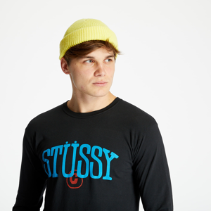 Stüssy Copyright Pig. Dyed Long Sleeve Tee Black