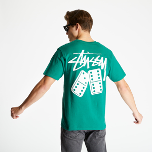 Stüssy Dominoes Tee Dark Green