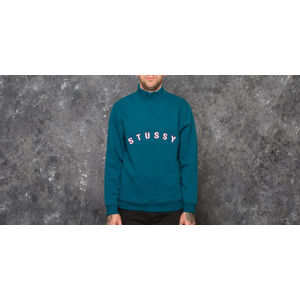 Stüssy Quarter Zip Mock Neck Dark Teal