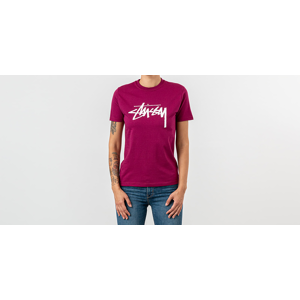 Stüssy Stock Tee Wine
