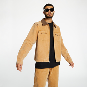 Stüssy Washed Canvas Work Shirt Gold