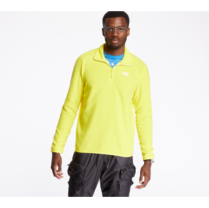 The North Face 100 Glacier 1/4 Zip Pullover Lemon