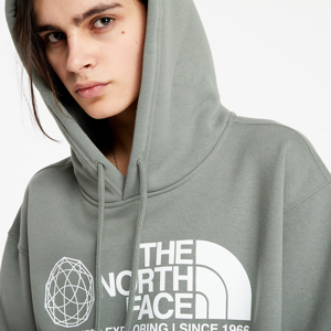 The North Face Coordinates Hoodie Agave Green