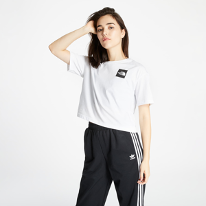 The North Face Cropped Fine Tee Tnf White