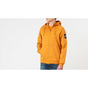 The North Face Fine Full Zip Hoodie Citrine Yellow