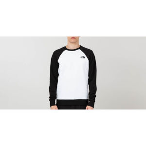 The North Face Raglan Red Box Crewneck Tnf White