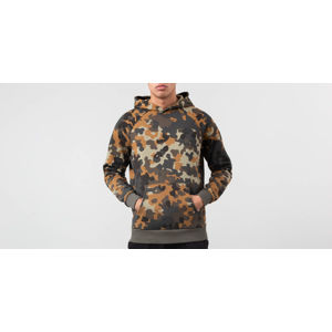 The North Face Raglan Red Box Hoodie Macrofleck Print