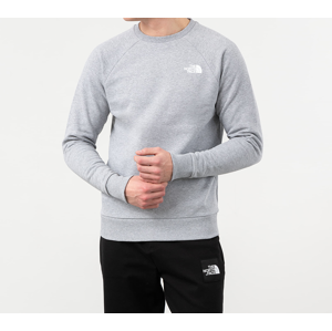 The North Face Raglan Redbox Crewneck Grey