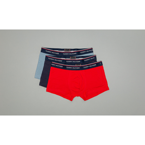 Tommy Hilfiger 3 Pack Trunk Faded Denim/Tango Red/Peacoat