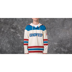 Undefeated Hockey Jersey Sweatshirt Off White