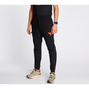 Under Armour Project Rock Terry Joggers Black Full Heather/ Versa Red