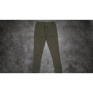Urban Classics Ladies Fitted Slub Terry Pants Olive
