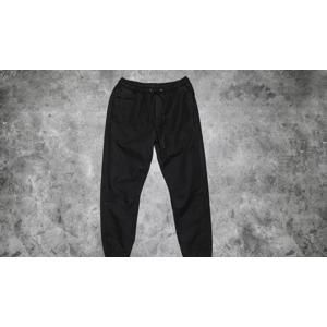Urban Classics Washed Canvas Jogging Pants Black