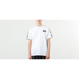 Used Future Universal UFU Tape Tee White