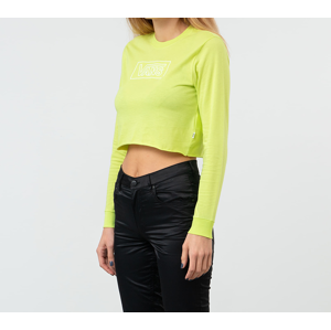 Vans After Dark Long Sleeve Cropped Tee Evening Primrose