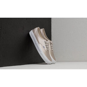 Vans Authentic (Satin Lux) Light Silver/ True White