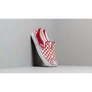 Vans Classic Slip-On (Checkerboardard) Rumba Red/