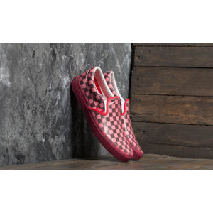 Vans Classic Slip-On (Translucent Rubber) Hibiscus/ Checkerboad