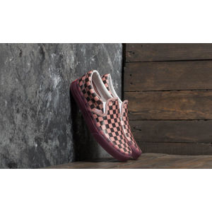 Vans Classic Slip-On (Translucent Rubber) Porcini/ Checkerboard