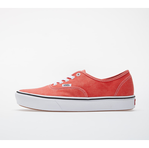Vans ComfyCush Authentic (Washed Canvas) Grenadine