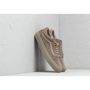 Vans OG Old Skool LX (Leather/ Suede) Plaze Taupe