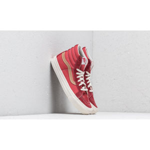 Vans OG SK8-Hi LX (Suede/ Canvas) Sun-Dried Tomato/ Red Mineral